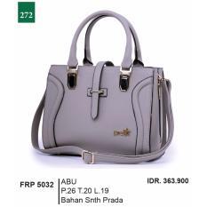 Garsel Fashion Tas Jinjing / Tas Bahu / Tas Selendang Wanita FRP 5032 - ABU