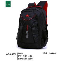 Garsel Fashion Tas Ransel / Gendong Pria ABS 5552 - HTM Bahan D-1680