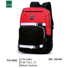 Garsel Fashion Tas Ransel / Gendong Pria FHI 5565 - HTMMRH Bahan Cordura