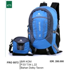 Garsel Fashion Tas Ransel / Gendong Pria FRO 5572 - BIRKOM Bahan Poly Tawon