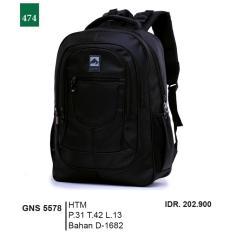 Garsel Fashion Tas Ransel / Gendong Pria GNS 5578 - HTM Bahan D-1682