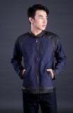 Toko Garsel Fdt 005 Jaket Jeans Pria Denim Synthetic Bagus Blue Black Termurah