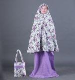 Beli Garsel Gni 9716 Mukena Anak Perempuan Cotton Bagus Purple Comb Terbaru