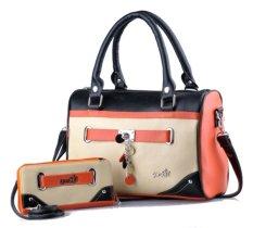 Dapatkan Segera Garsel Handle Bag Bisa Slempang Couple Modis Cantik Virotex 243 Fkn 004 5232 Krem