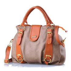 Garsel Handle Bag Bisa Slempang Modis&Cantik - Bravo - 297 Fth 001-Krem