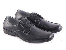 Ongkos Kirim Garsel L122 Sepatu Kerja Pantofel Pria Kulit Elegant Hitam Di Indonesia