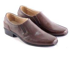 Ulasan Mengenai Garsel L135 Sepatu Kerja Pantofel Pria Kulit Super Keren Coklat