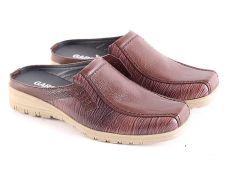 Garsel L173 Sandal Selop Bustong Pria Kulit Premium Keren Coklat Kom Terbaru