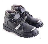 Model Garsel L226 Sepatu Boots Balita Laki Laki Synth Bagus Hitam Terbaru