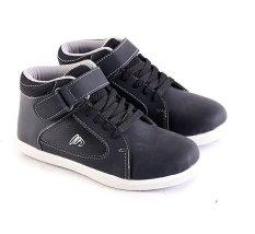 Jual Beli Garsel L236 Sepatu Sneaker Sekolah Anak Laki Laki Synth Bagus Hitam