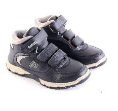 Jual Beli Garsel L239 Sepatu Sneaker Sekolah Anak Laki Laki Synth Bagus Hitam Baru Indonesia