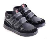 Beli Garsel L240 Sepatu Sneaker Sekolah Anak Laki Laki Synth Bagus Hitam Yang Bagus