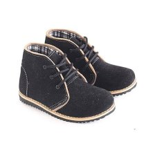 Harga Garsel L242 Sepatu Boots Balita Laki Laki Synth Bagus Hitam Fullset Murah