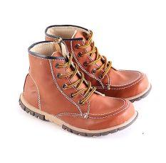Garsel L247 Sepatu Boots Balita Laki-Laki - Synth - Keren (Coklat)