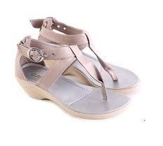 Review Garsel L268 Sandal Wedges Anak Perempuan Synth Bagus Salem Terbaru