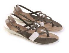 Garsel L356 Sandal Flat Wanita - Synth - Keren (Olip Kom)