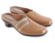 Harga Garsel L492 Sandal Selop Wanita Synth Keren Coklat Muda Termahal