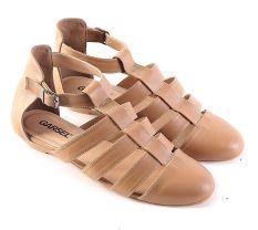 Harga Garsel L497 Sepatu Flat Wanita Synth Bagus Coklat Muda Garsel Jawa Barat
