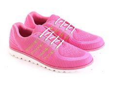 Diskon Garsel L563 Sepatu Sport Lari Wanita Synth Keren Pink