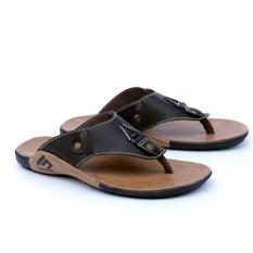 Garsel Sandal Casual Santai Trendy Pria GSG3429 - Coklat