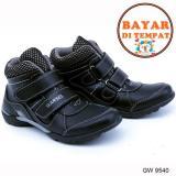 Harga Garsel Sepatu Anak Laki Laki Keren Dan Modis Gw 9540 Black Yang Bagus