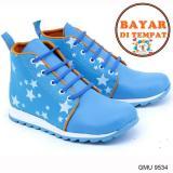 Toko Garsel Sepatu Anak Perempuan Keren Dan Modis Gmu 9534 Blue Dekat Sini