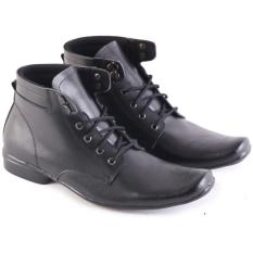 Ulasan Lengkap Tentang Garsel Sepatu Boot Formal Pantofel Kantor Kerja Pdh Pdl Kulit Asli Pria Hitam