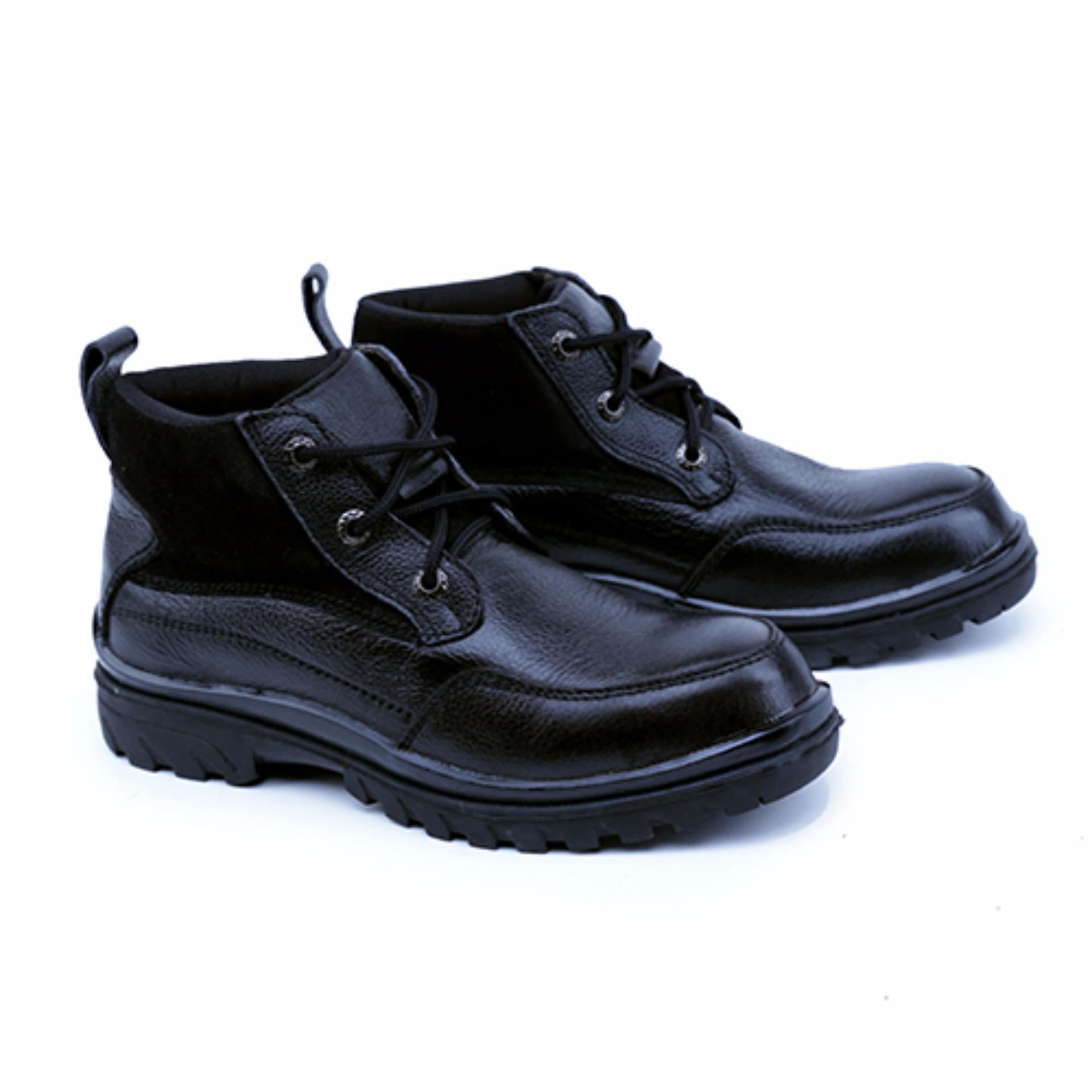 garsel-sepatu-boots-amp-safety-safety-shoes-pria-grn-2503-bahanpremium-leather-1196-65443793-0892d8d2e3956dd2ce9918fabefd6a32 10 Daftar Harga Sepatu Safety Garsel Paling Baru 2018
