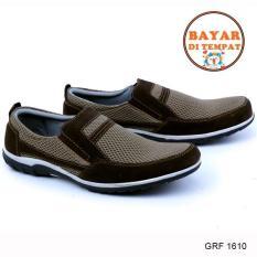 Garsel Sepatu Formal Pria Modis GRF 1610 - Brown