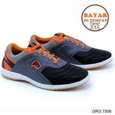 Promo Toko Garsel Sepatu Futsal Pria Keren Grg 7506 Abu