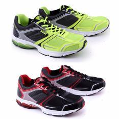 Harga Garsel Sepatu Olahraga Badminton Shoes Pria Gre 7755 Bahan Synth Garsel Shoes Baru
