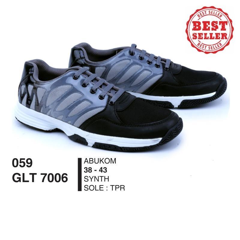 GARSEL Sepatu Olahraga Pria - Sepatu lari Pria - Sepatu Running GLTx7006 Grey Comb