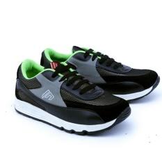 Garsel Sepatu Sekolah Anak Casual Sneakers GDA9503 - Hitam