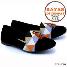 Jual Garsel Sepatu Slip On Wanita Modis Dan Trendy Gdc 6004 Black Satu Set