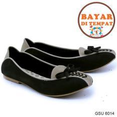 Promo Garsel Sepatu Slip On Wanita Modis Dan Trendy Gsu 6014 Black