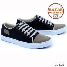 Garsel Sepatu Sneakers Pria Keren Dan Modis Gl 1029 Blue Diskon Jawa Barat