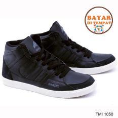 Ulasan Garsel Sepatu Sneakers Pria Keren Dan Modis Tmi 1050 Black