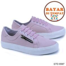 Beli Garsel Sepatu Sneakers Wanita Modis Dan Trendy Gtd 6567 Pink Garsel Shoes Online