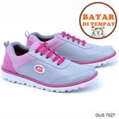Harga Garsel Sepatu Sport Wanita Keren Kuat Dan Modis Gus 7027 Grey Baru