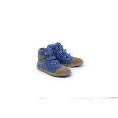 Garsel Shoes GDL 9512 Sepatu Anak  Sneaker Casual Boot Laki-Laki-Sintetis-Tpr-New Katalog Lucu Bagus(Biru)