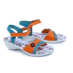Garsel Shoes Sandal GUJ 9014 Anak Perempuan Fashion Anak-Orange Kom Sintetis Original