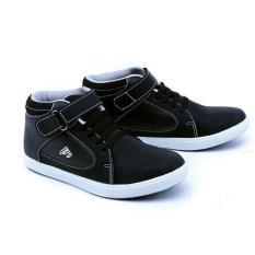 Garsel Shoes Sepatu Gda 9508 Anak Laki Laki Fashion Anak Hitam Sintetis Original Terbaru