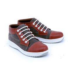 Jual Garsel Shoes Sepatu Gmu 9527 Anak Laki Laki Fashion Anak Coklat Maroon Sintetis Original Garsel Shoes Ori