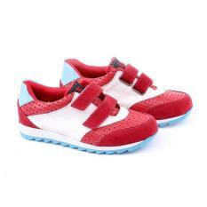 Spek Garucci Gak 9082 Sepatu Anak Sneaker Laki Laki Synth Bagus Red