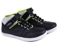 Review Garucci Gda 9068 Sepatu Anak Casual Boots Laki Laki Sintetis Keren Hitam Kombinasi Terbaru