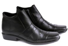 Garucci GHD 0375 Sepatu Formal/Pantofel Pria - Leather - Elegan (Hitam)