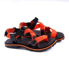 Garucci Gsg 3081 Sandal Casual/Gunung Pria-Webbing-Bagus(Orange Kombinasi)