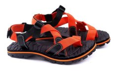 Jual Beli Garucci Gsg 3081 Sandal Gunung Hiking Pria Webbing Bagus Orange Indonesia