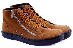 Toko Garucci Gsy 1216 Sepatu Sneaker Pria Tan Online Terpercaya