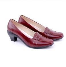 Harga Garucci Sepatu Formal Kerja Wanita Gln 4234 Maroon Di Jawa Barat